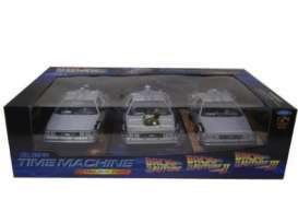 BACK TO THE FUTURE - Delorean GIFT BOX (I+II+III) 1:24 scale