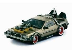BACK TO THE FUTURE 3 - 1987 Delorean 1:24 scale
