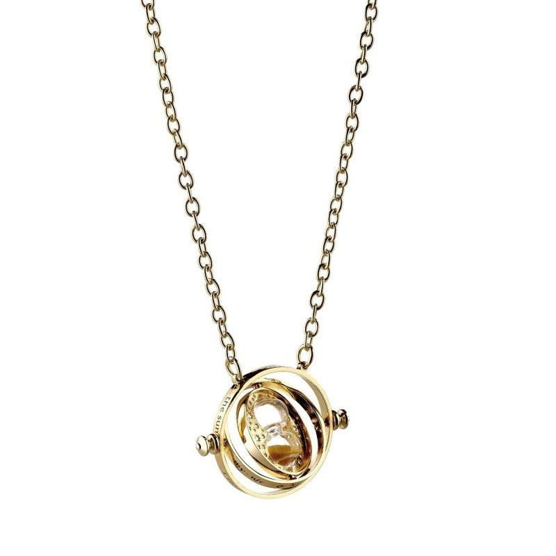 HARRY POTTER - Pendentif et Collier Plaqué Or - Time Turner_2