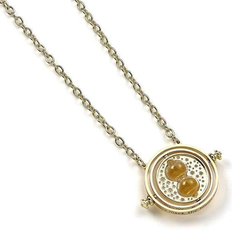 HARRY POTTER - Pendentif et Collier Plaqué Or - Time Turner_3