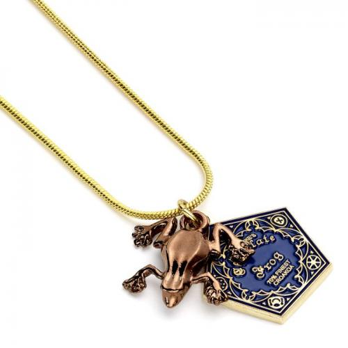 HARRY POTTER - Chocolate Frog - Collier