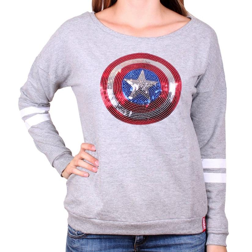 MARVEL - Pull Over GIRLS - Captain America (L)