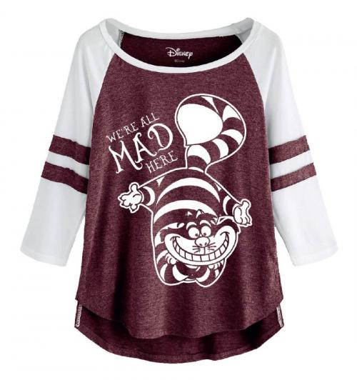 ALICE - T-Shirt GIRL - Mad Cheshire Cat (S)