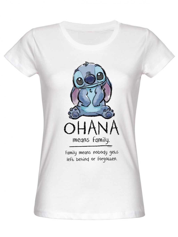 DISNEY - T-Shirt Ohana Means Family - GIRL (S)