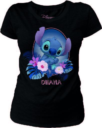 DISNEY - T-Shirt Stitch/Ohana - GIRL (S)