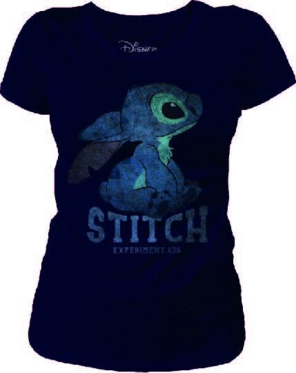 DISNEY - T-Shirt Stitch Vintage - GIRL (M)