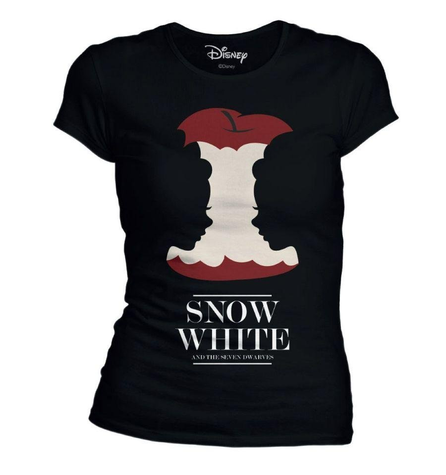 DISNEY - T-Shirt Snow White Eat Poisin Apple - GIRL (M)