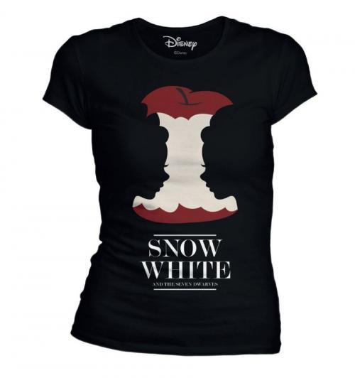 DISNEY - Snow White Eat Poison Apple - T-Shirt femme (M)