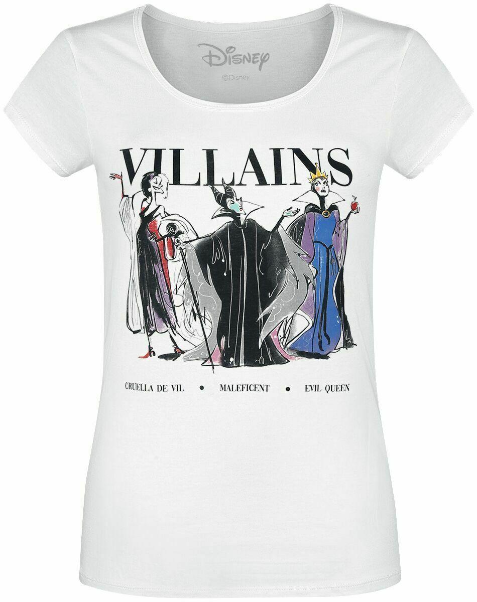 DISNEY - T-Shirt Villains - GIRL (S)