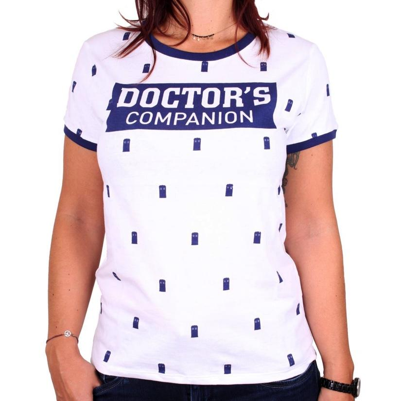 DOCTOR WHO - T-Shirt GIRL - Doctor's Companion (L)