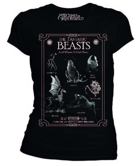 FANTASTIC BEASTS - T-Shirt Creatures (S)