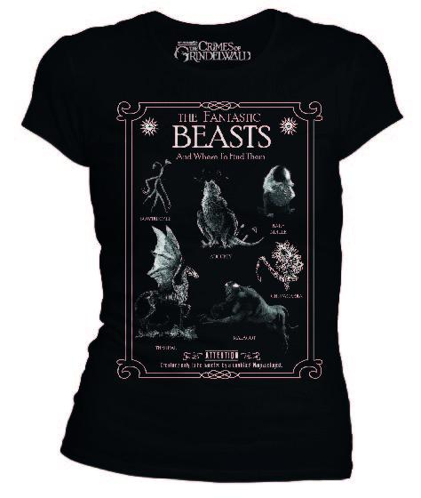 FANTASTIC BEASTS - T-Shirt Creatures (S)