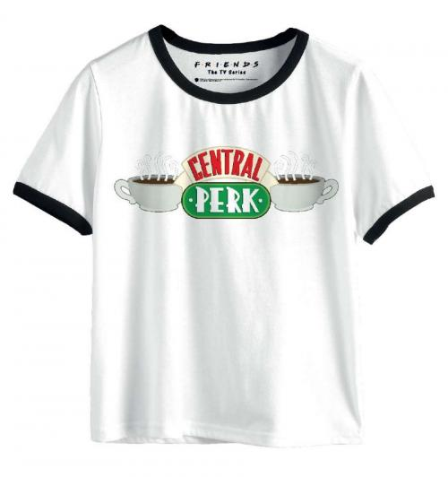 FRIENDS - T-Shirt Femme - Central Perk Logo (M)