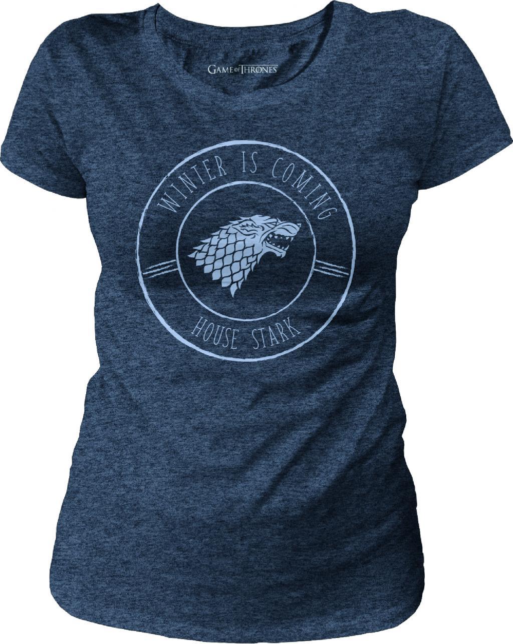 GAME OF THRONES - T-Shirt Stark Blason - GIRL (M)