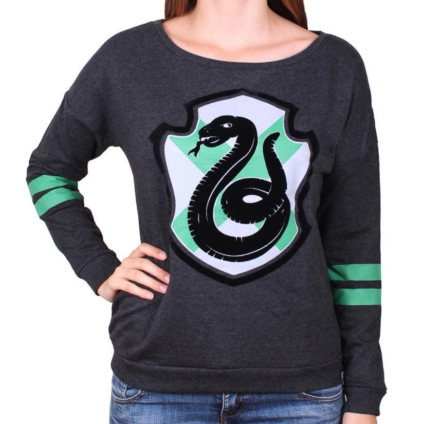 HARRY POTTER - Pull Over GIRLS - Serpentard (XL)