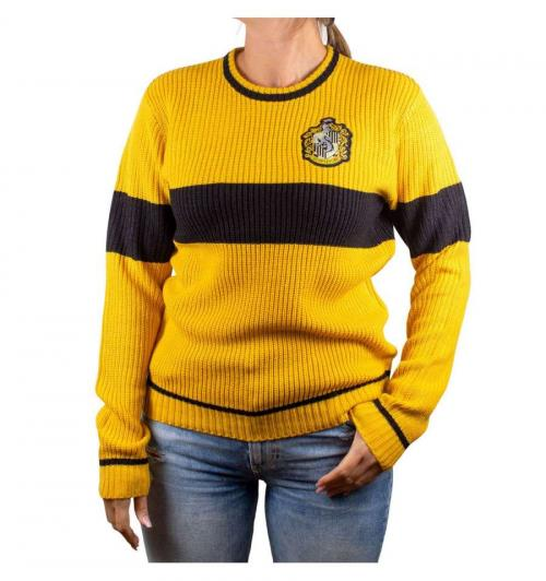 HARRY POTTER - Women Sweater - Ecole Poufsouffle (S)