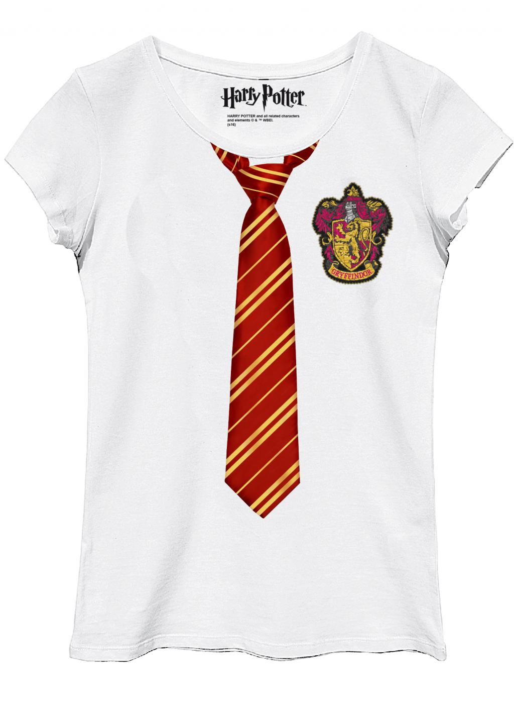 HARRY POTTER - T-Shirt Gryffindor Disguise - GIRL (L)_1