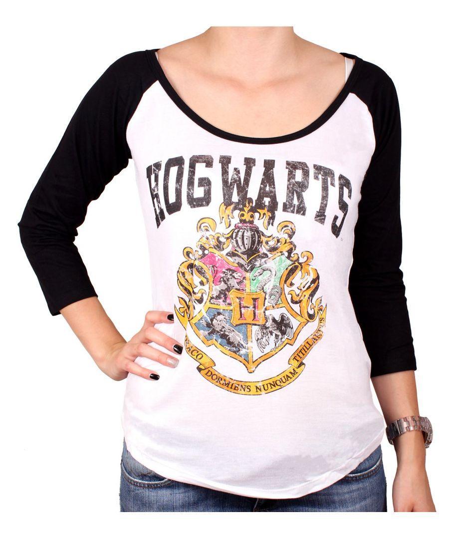 HARRY POTTER - T-Shirt Hogwarts School - GIRL (S)