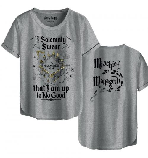 HARRY POTTER - T-Shirt femme - I Solemnly Swear (L)