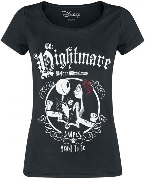NIGHTMARE BEFORE CHRISTMAS - T-Shirt - Simply Meant to be - GIRL (S)