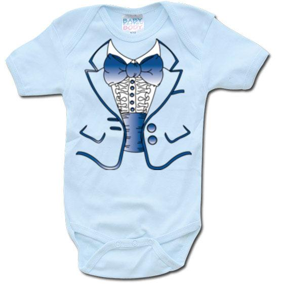 GEEK - Baby Body - Blue Suit Body (12 Month)