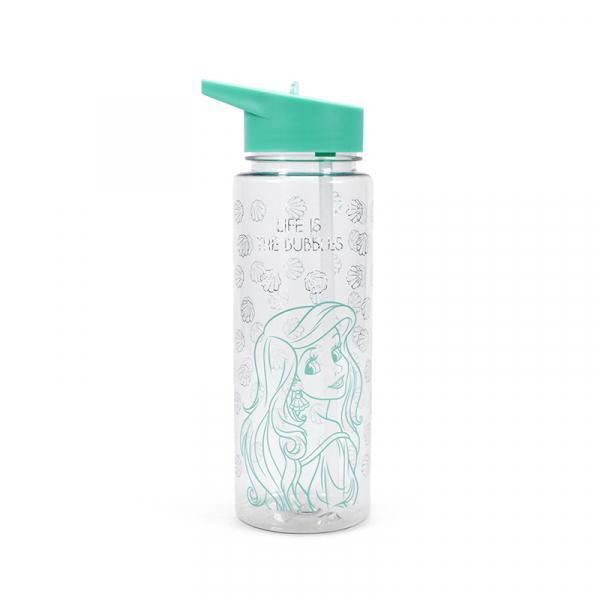 DISNEY - Water Bottle PVC 700ml - Ariel 'Life is the Bubbles'