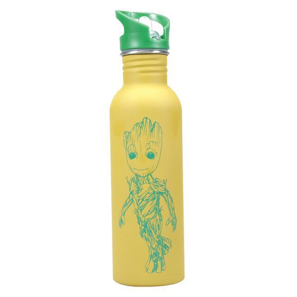 MARVEL - Water Bottle Metal - Groot
