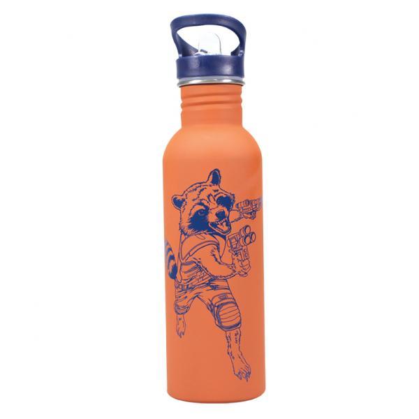MARVEL - Water Bottle Metal - Rocket