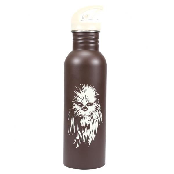 STAR WARS - Water Bottle Metal - Chewbacca