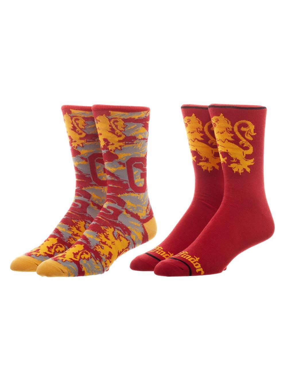 HARRY POTTER - Gryffindor Socks '41-45' - 2 pack
