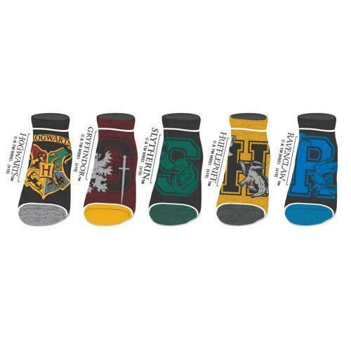 HARRY POTTER - Maisons de Poudlard - 5 paires de socquettes (34-41)