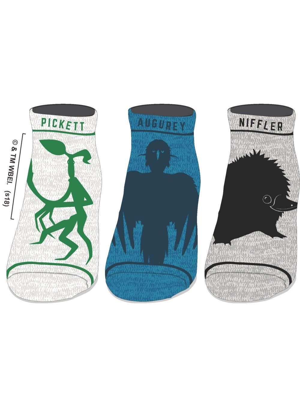 FANTASTIC BEASTS - 3 Pack Socks