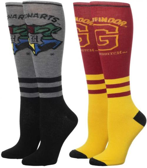 HARRY POTTER - Griffondor - 2 paires de chaussettes femmes