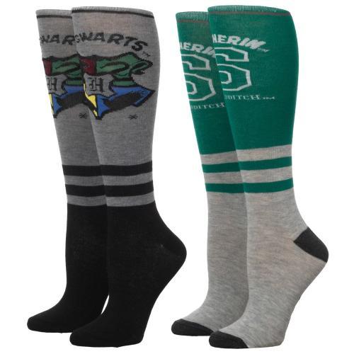 HARRY POTTER - Serpentard - 2 paires de chaussettes femmes