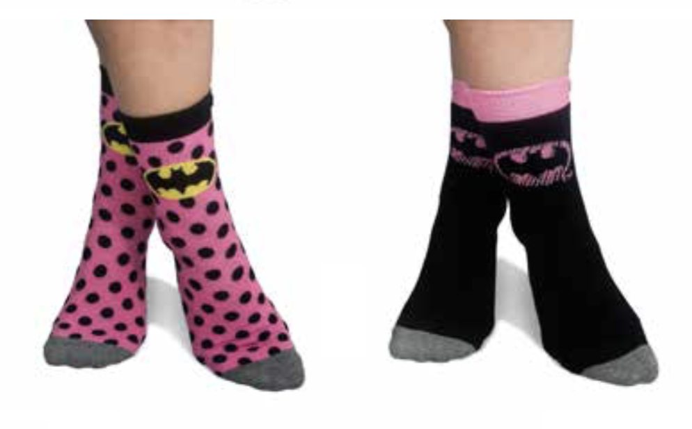 BATMAN - Pack 2 Chaussettes Ladies Pink (35-39)_1