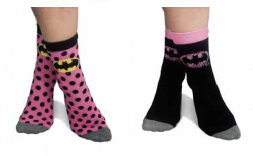 BATMAN - Pack 2 Chaussettes Ladies Pink (35-39)