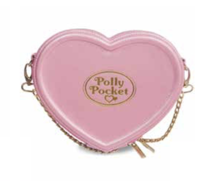 POLLY POCKET - Heart shaped cross body bag