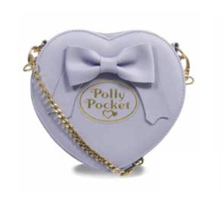 POLLY POCKET - Purple Bow Cross Body Bag