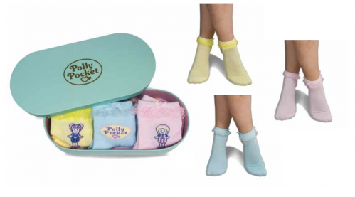 POLLY POCKET - TIN BOX - Pack 3 Chaussettes (35-39)