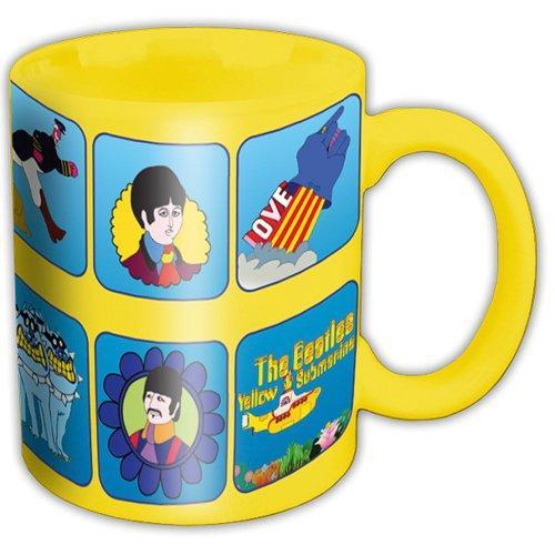 THE BEATLES - Mug 315 ml - Yellow Submarine Characters