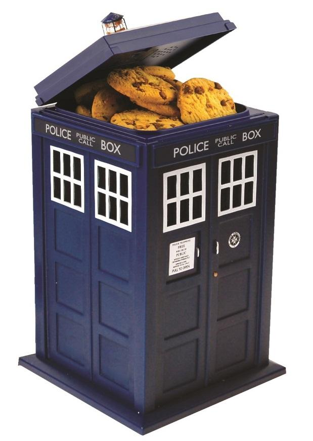 DOCTOR WHO - Boîte à cookies sonore et lumineuse Tardis
