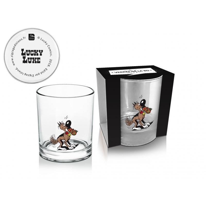 LUCKY LUKE - Whisky Glass 270 ml - Rantanplan