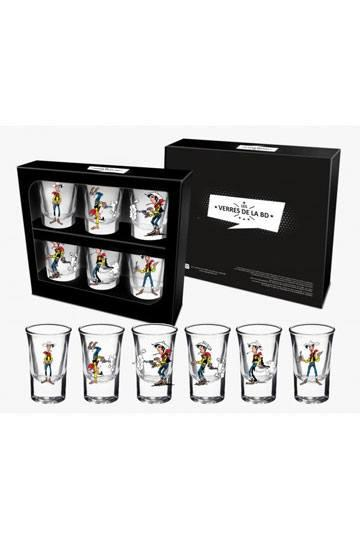 LUCKY LUKE - Shooters Set 6 pcs - Lucky Luke