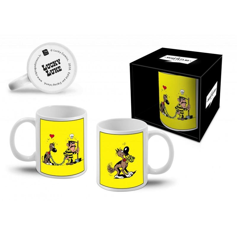 LUCKY LUKE - Mug 300 ml - Dalton + Rantanplan
