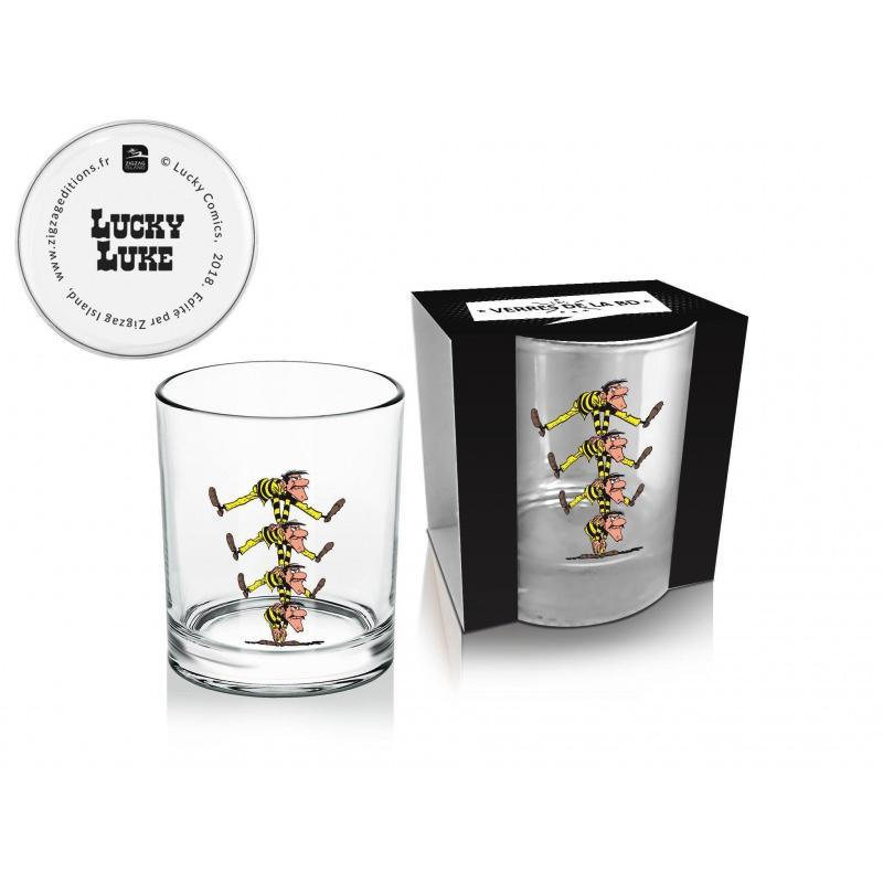 LUCKY LUKE - Whisky Glass 270 ml - Dalton's Brothers