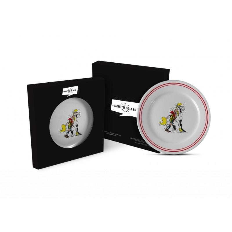 LUCKY LUKE - Assiette 23cm - Luke + Jolly Jumper