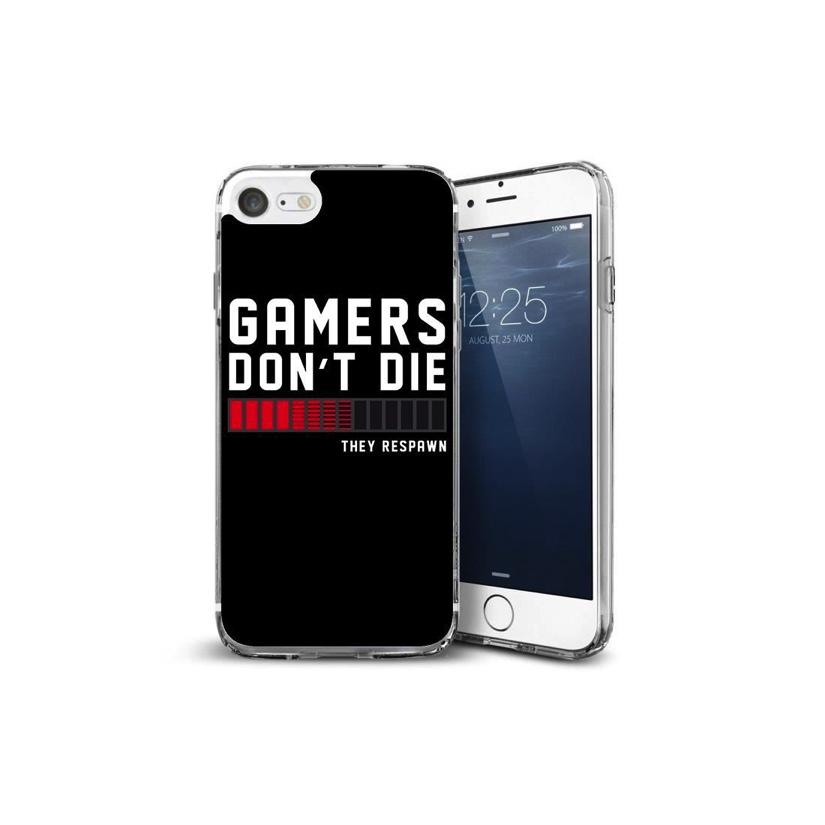 GAMERS - Coque Iphone 7 : Gamers Don't Die