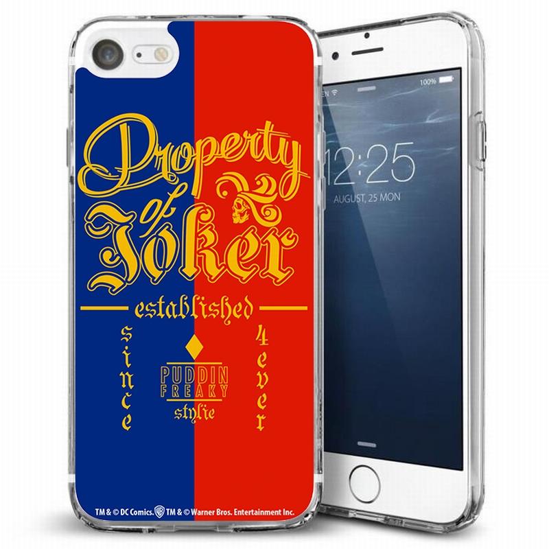 DC COMICS - Coque Iphone 7 : Property of Joker Case