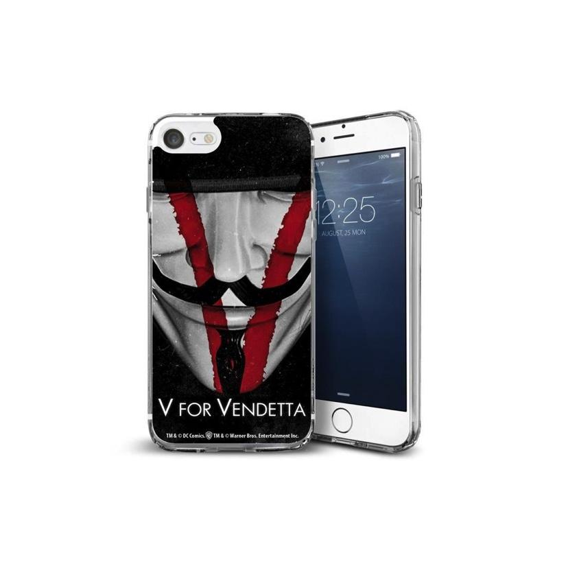 V FOR VENDETTA - Coque Iphone 7 : Face