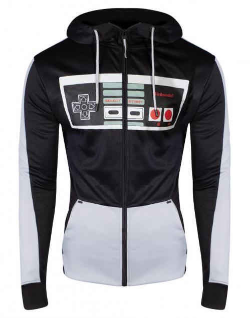 NINTENDO - Nintendo Controller Men's Hoodie (S)